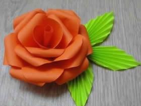 怎么做玫瑰花的图解教程 手工制作纸玫瑰步骤
