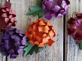 怎么制作菊花的教程 手工制作纸菊花图解