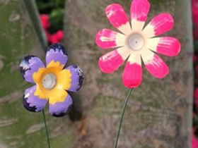 怎么用矿泉水瓶做花 手工制作塑料花的方法