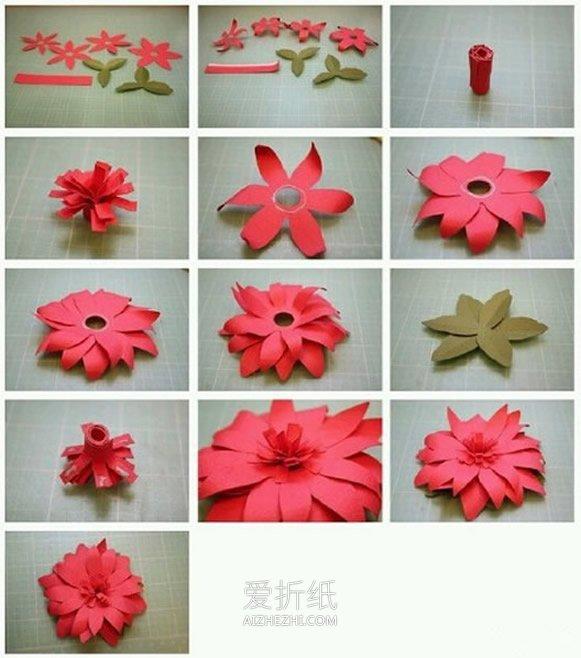 怎么包花束_怎么用卡纸折花的教程 8种卡纸花的做法图解_爱折纸网
