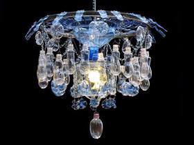 怎么用塑料瓶做吊灯 饮料瓶手工制作灯饰