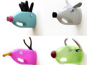 怎么用塑料瓶制作挂钩 塑料瓶DIY动物挂钩