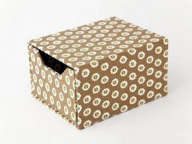 怎么做家居收纳盒子 方形收纳盒子手工制作