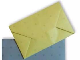 怎么做信封的方法图解 简单手工折纸信封教程