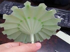 怎么做迷你纸伞的方法 手工折纸雨伞图解教程