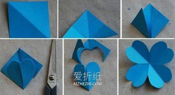 幼儿园最简单手工花朵_怎么做纸花的方法图解 彩纸手工制作小花教程_爱折纸网