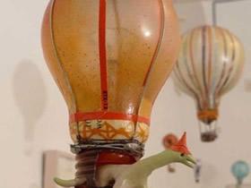 怎么做灯泡手工艺品 不要白炽灯泡制作热气球