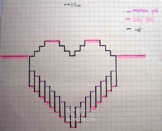 小学生做的新年贺卡_怎么做立体爱心贺卡 手工制作节日爱心贺卡_爱折纸网
