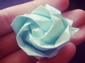 手工玫瑰花怎么折图解 如何折纸玫瑰的折法