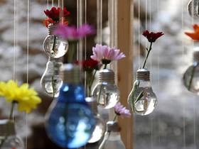 白炽灯泡怎么废物利用 灯泡制作煤油灯和花瓶