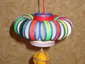 塑料瓶盖怎么做灯笼 儿童塑料灯笼手工制作