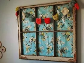 怎么改造旧窗框图片 旧窗户改造家居装饰品