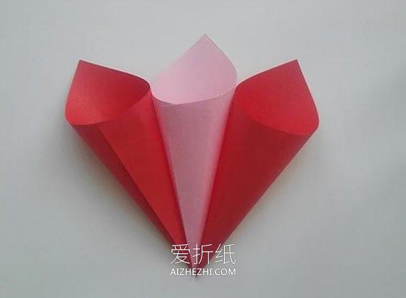 简单纸花怎么做图解 幼儿园手工制作纸花- www.aizhezhi.com