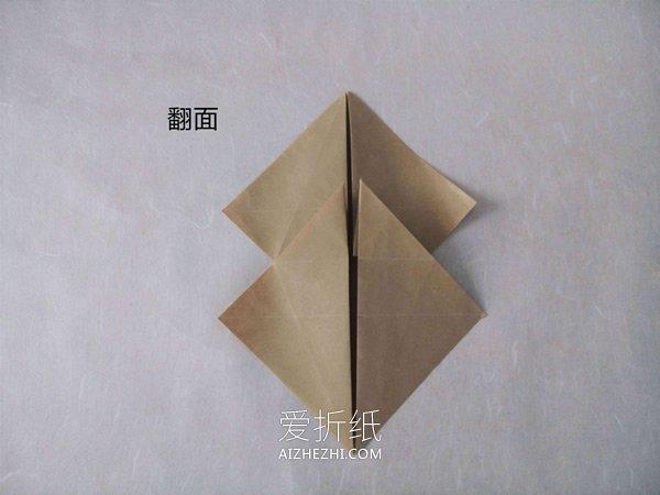 怎么折纸逼真的兔子 手工折纸立体兔子图解- www.aizhezhi.com
