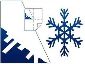 9种剪纸雪花的图案 手工剪纸漂亮雪花的剪法