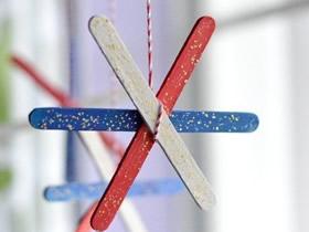冰棍棒怎么废物利用做手工简单又漂亮