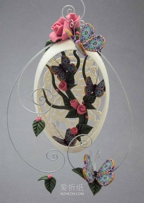 软陶制作入门_漂亮的蛋雕图片大全 手工鸡蛋壳雕刻作品(2)_爱折纸网