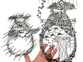 Mr. Riu绝美纸雕作品 手工平面纸雕艺术图片