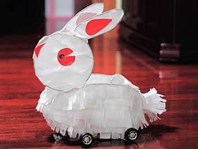怎么做元宵节兔子灯 中秋节兔子灯笼制作方法
