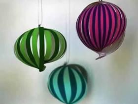 怎么做中秋节小灯笼图解 元宵节春节灯笼制作
