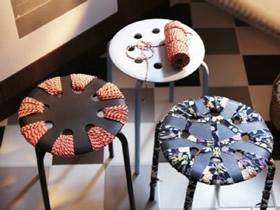 怎么改造旧凳子的方法 带孔凳子改造DIY图解