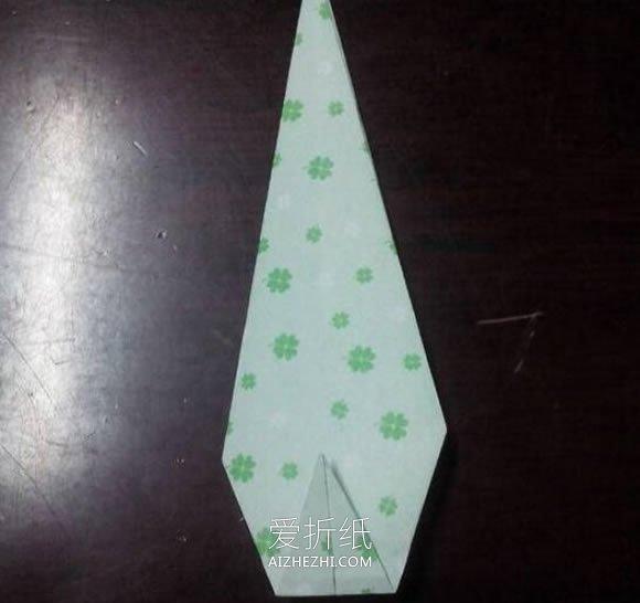 如何折纸天鹅的步骤图 简单手工折纸立体天鹅- www.aizhezhi.com