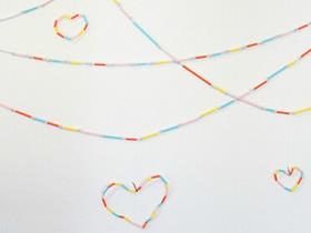彩色吸管怎么做挂饰 简单又漂亮吸管挂饰制作