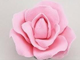怎么做粘土玫瑰花图解 超轻粘土DIY制作玫瑰花