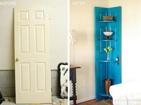 怎么做转角柜的方法 旧门板改造利用做转角柜