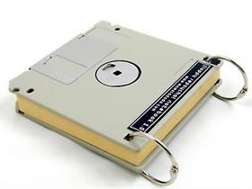 怎么把磁盘废物利用 手工制作成本子的封皮
