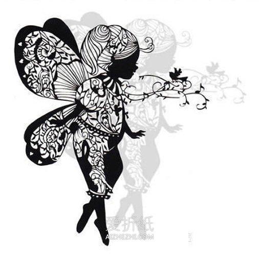 手工制作立体相框_手工雕刻平面纸雕图片 精美绝伦纸雕艺术品_爱折纸网