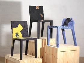 怎么把旧衣服利用起来 旧衣制作椅子的图片