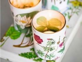 玻璃杯怎么做漂亮烛台 简单好看玻璃烛台DIY