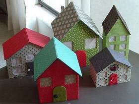 怎么做娃娃屋的方法 瓦楞纸制作娃娃屋玩具