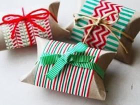 卷纸芯怎么做包装盒 废物利用制作礼品盒图解