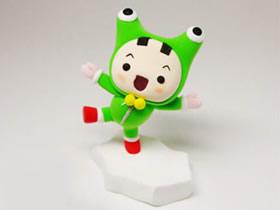 怎么做粘土青蛙童子 粘土制作扮青蛙的小男孩