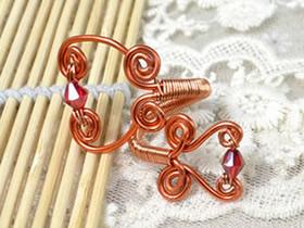 怎么做绕线戒指图解 铜线DIY女生戒指的教程