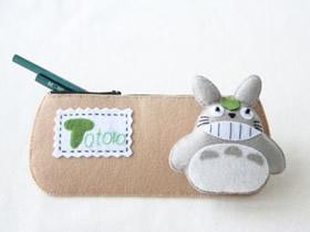 怎么做布艺笔袋图解 卡通笔袋手工制作教程