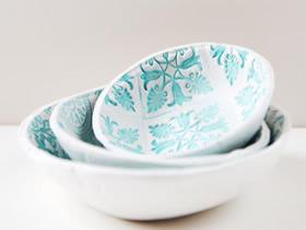怎么做粘土盘子的方法 超轻粘土装饰盘制作