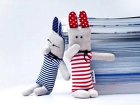 怎么做人形兔子布偶 手工布艺兔子玩偶制作
