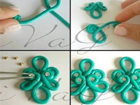 怎么做粘土中国风花纹 超轻粘土花纹手工制作