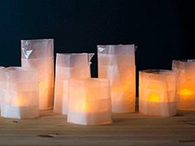 怎么做纸烛台的方法 蜡纸手工制作烛台图解