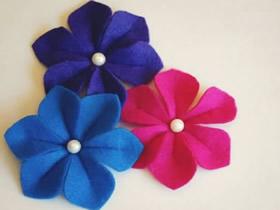 怎么做立体布花图解 手工布艺立体花朵制作
