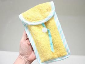 怎么做洗漱袋的方法 手工布艺洗漱袋制作图解