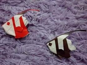 怎么折纸马夫鱼图解 手工折纸逼真马夫鱼折法