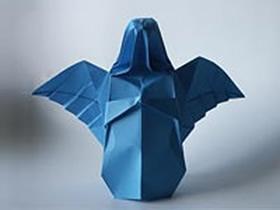 怎么折纸天使的方法 立体天使手工折法图解