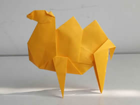 怎么折纸双峰骆驼教程 详细手工折纸骆驼图解