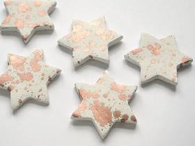 怎么做粘土五角星冰箱贴 粘土DIY星星冰箱贴