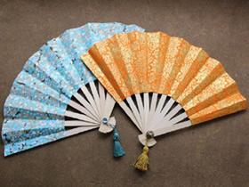 怎么做中国传统纸扇 折叠扇子DIY详细步骤图