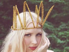 唯美的手工皇冠作品 实现你的小小公主梦